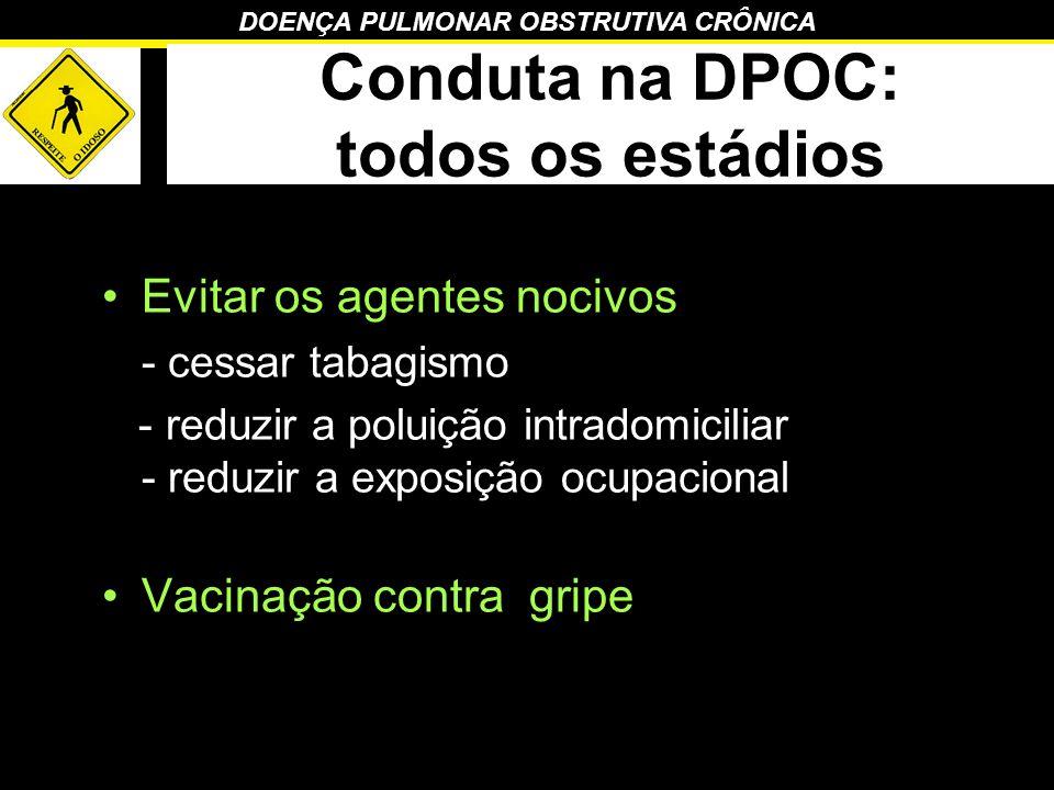 Conduta na DPOC: todos os estádios