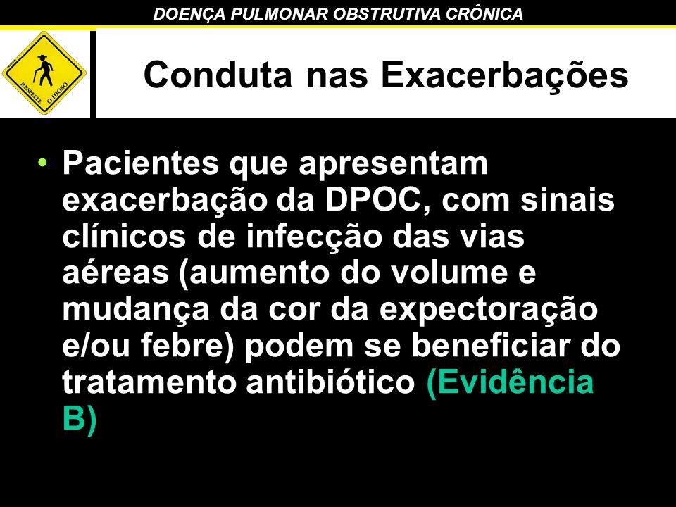 Conduta nas Exacerbações