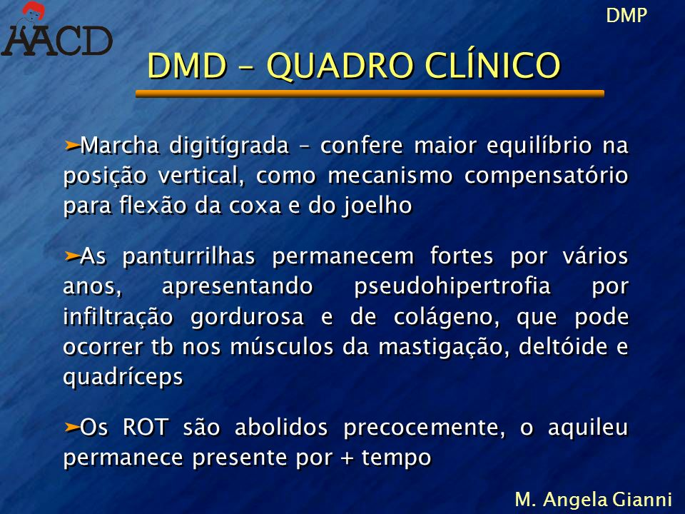 DMD – QUADRO CLÍNICO
