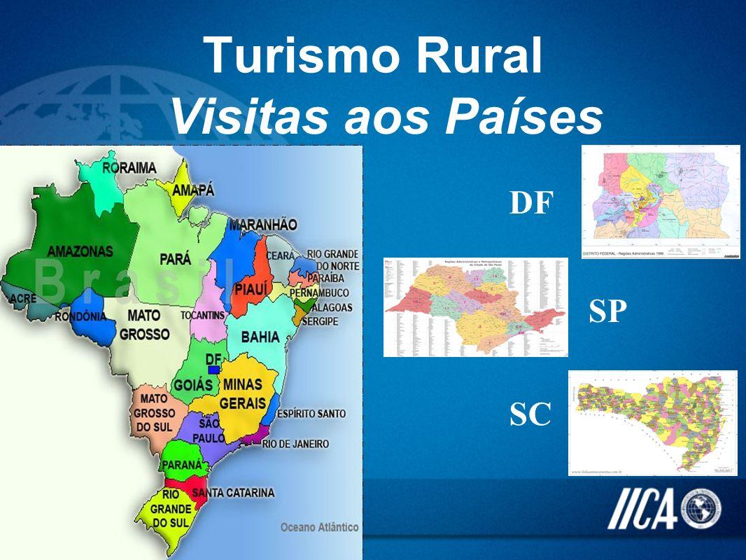 Turismo Rural Visitas aos Países