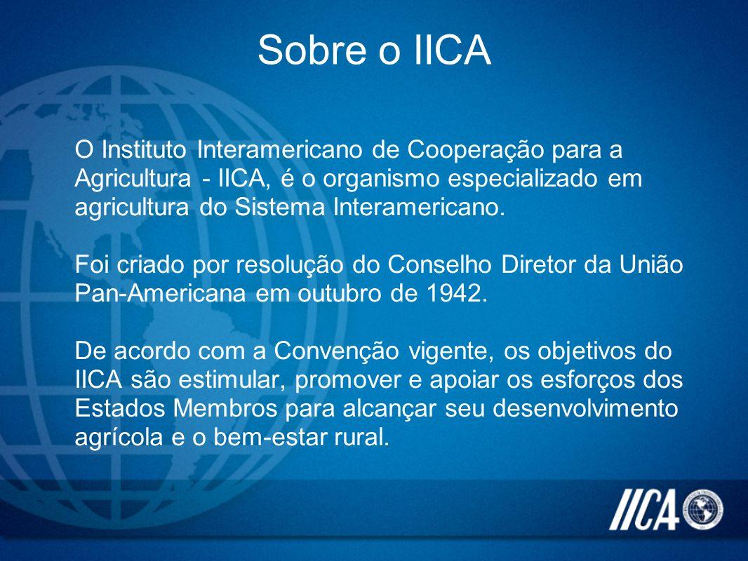 Sobre o IICA