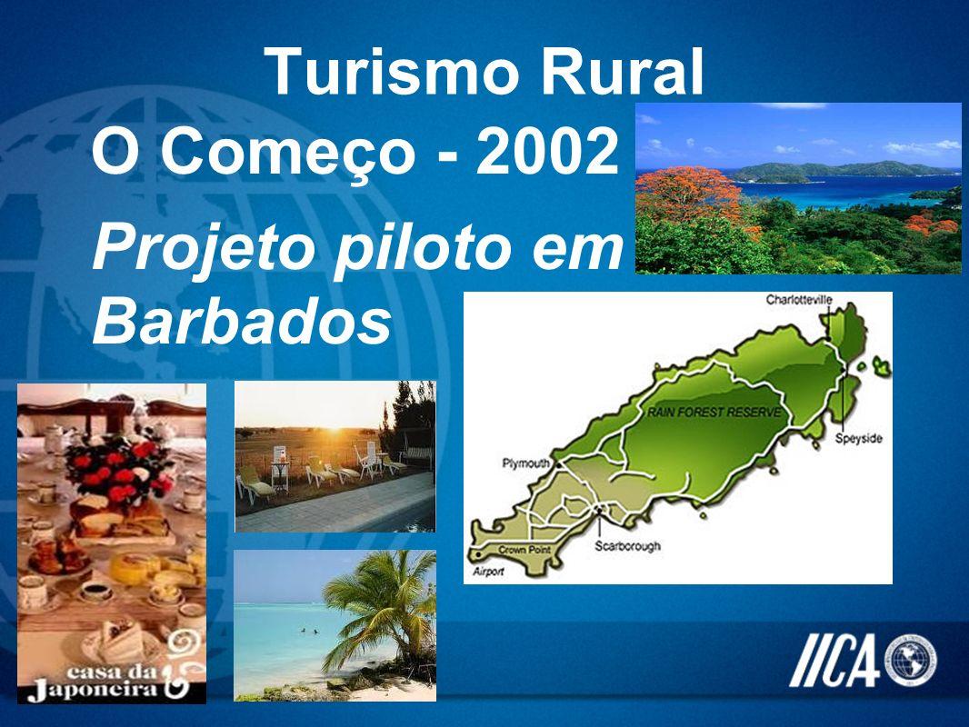 O Começo - 2002 Projeto piloto em Barbados