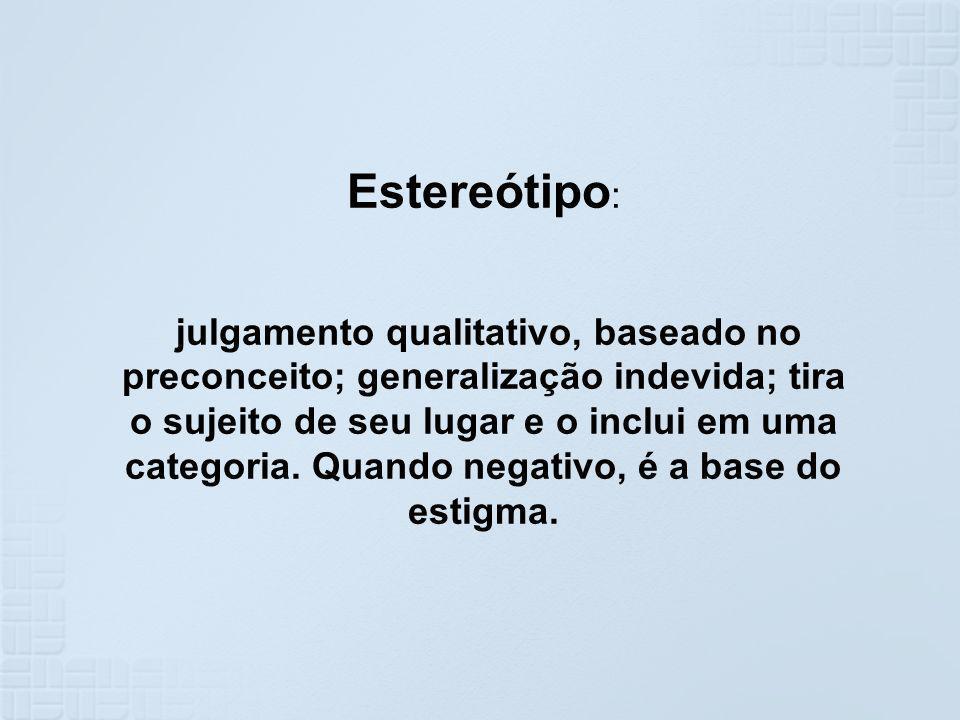 Estereótipo: