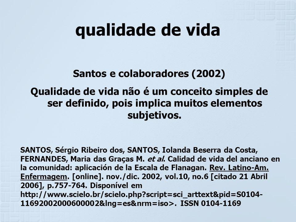 Santos e colaboradores (2002)