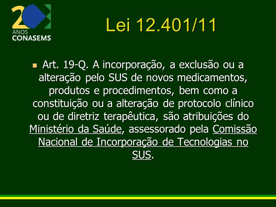 Lei 12.401/11
