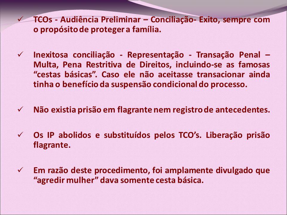TCOs - Audiência Preliminar – Conciliação- Exito, sempre com o propósito de proteger a família.