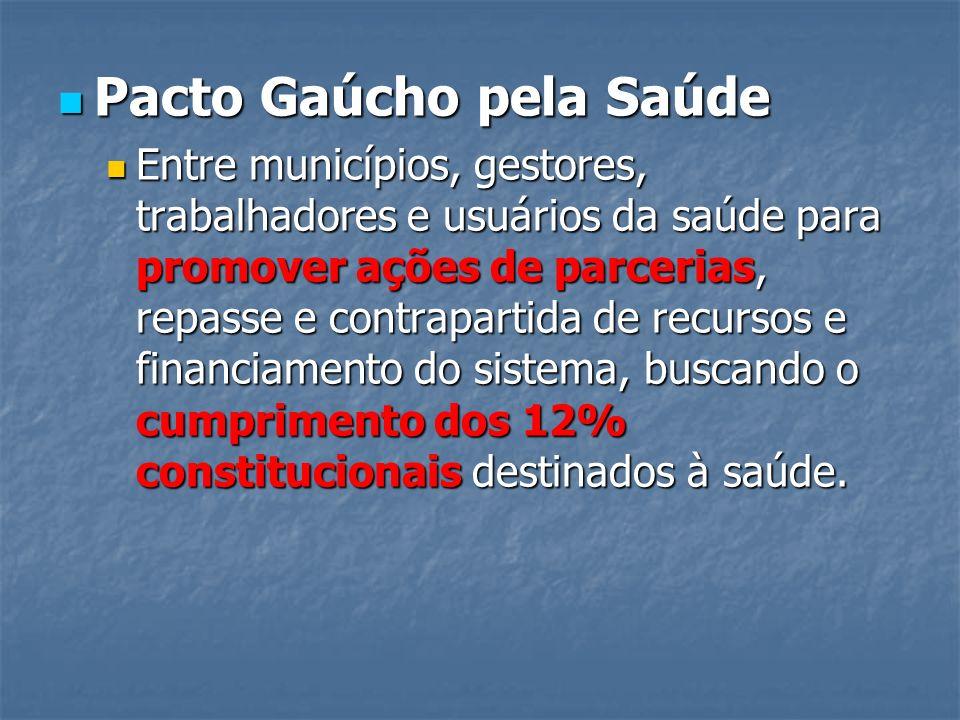 Pacto Gaúcho pela Saúde