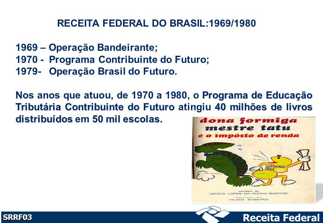 RECEITA FEDERAL DO BRASIL:1969/1980