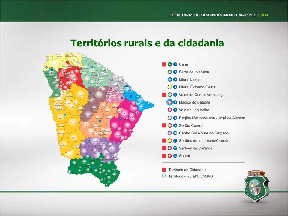 Territórios rurais e da cidadania