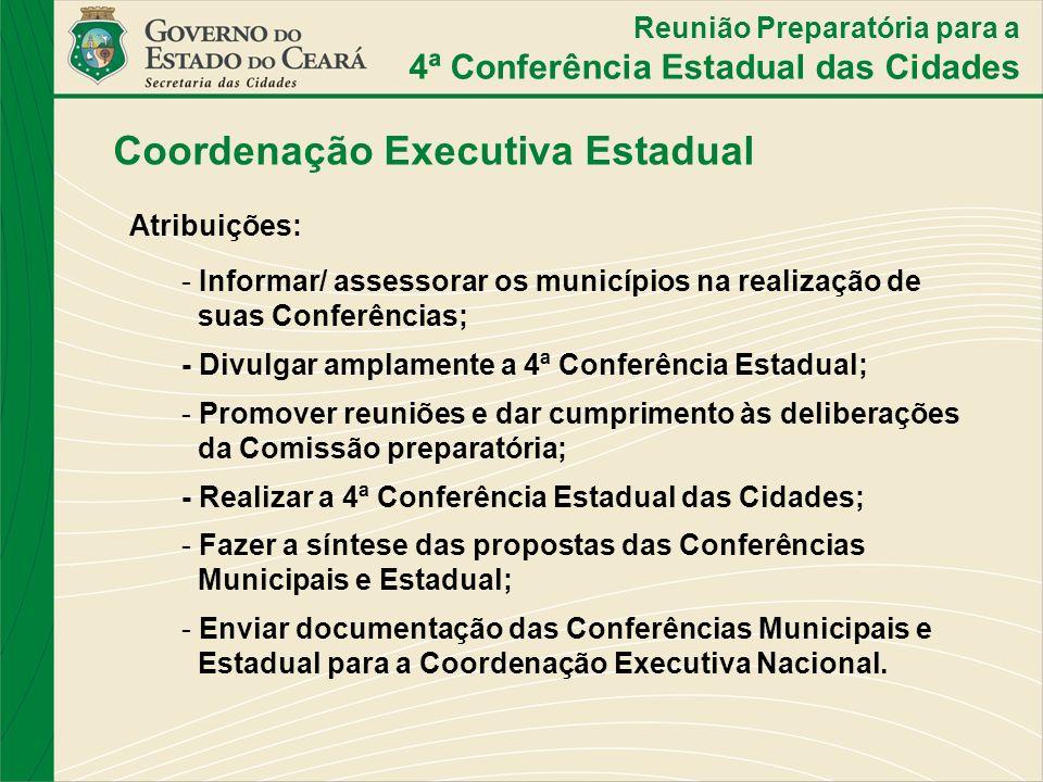 Coordenação Executiva Estadual