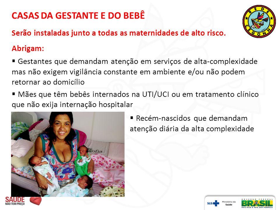 CASAS DA GESTANTE E DO BEBÊ