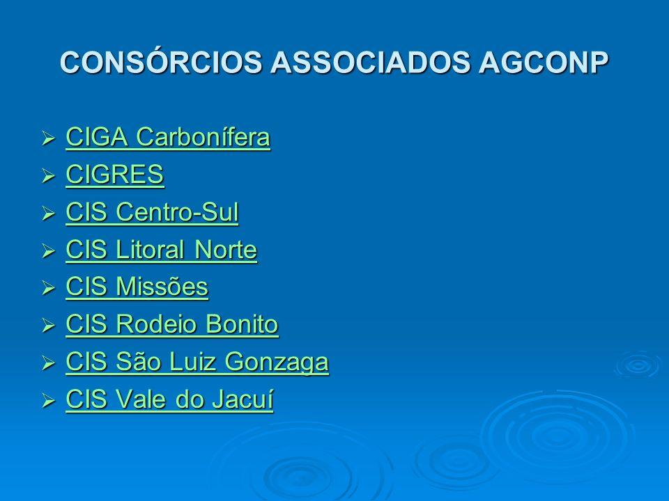 CONSÓRCIOS ASSOCIADOS AGCONP