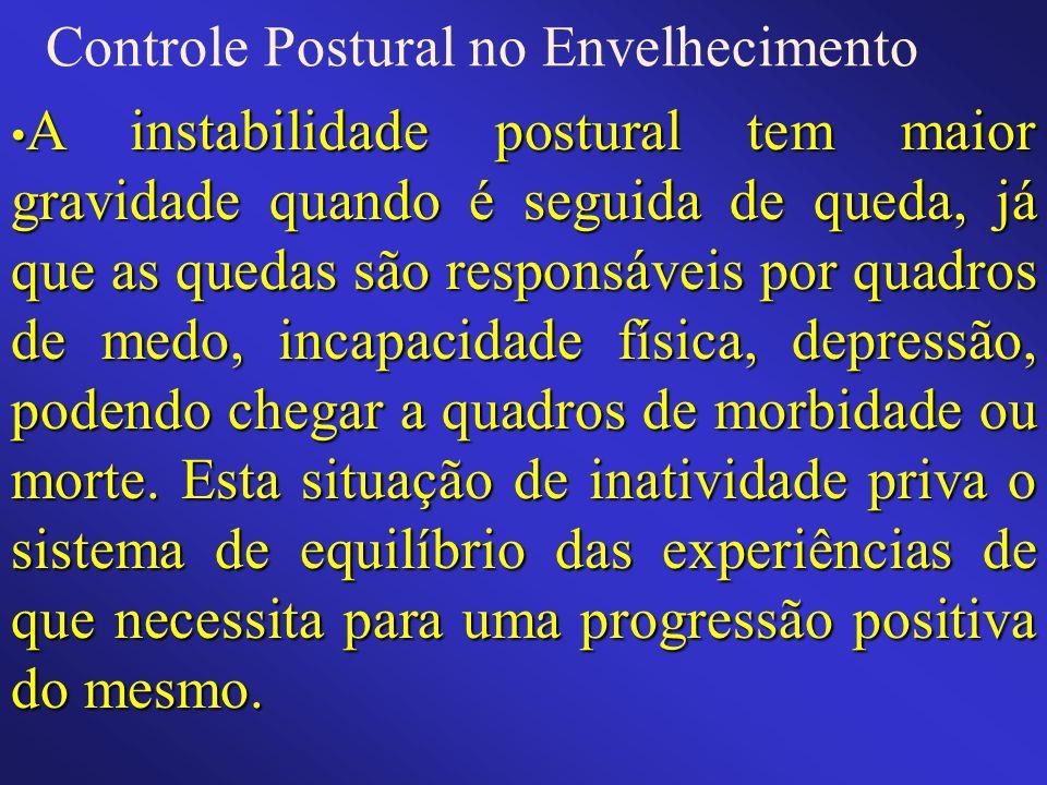 Controle Postural no Envelhecimento
