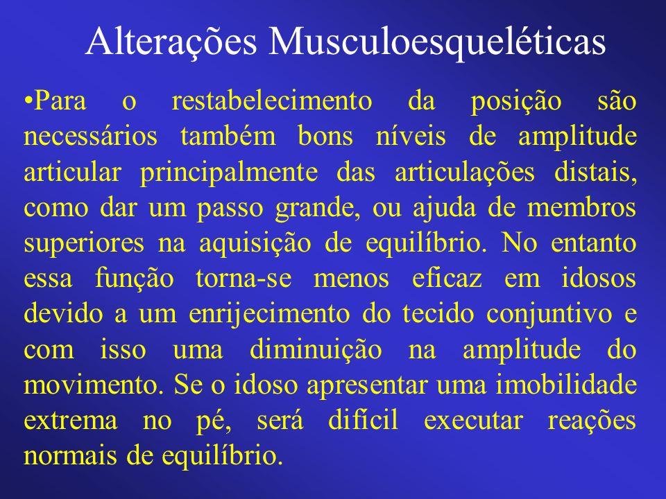 Alterações Musculoesqueléticas