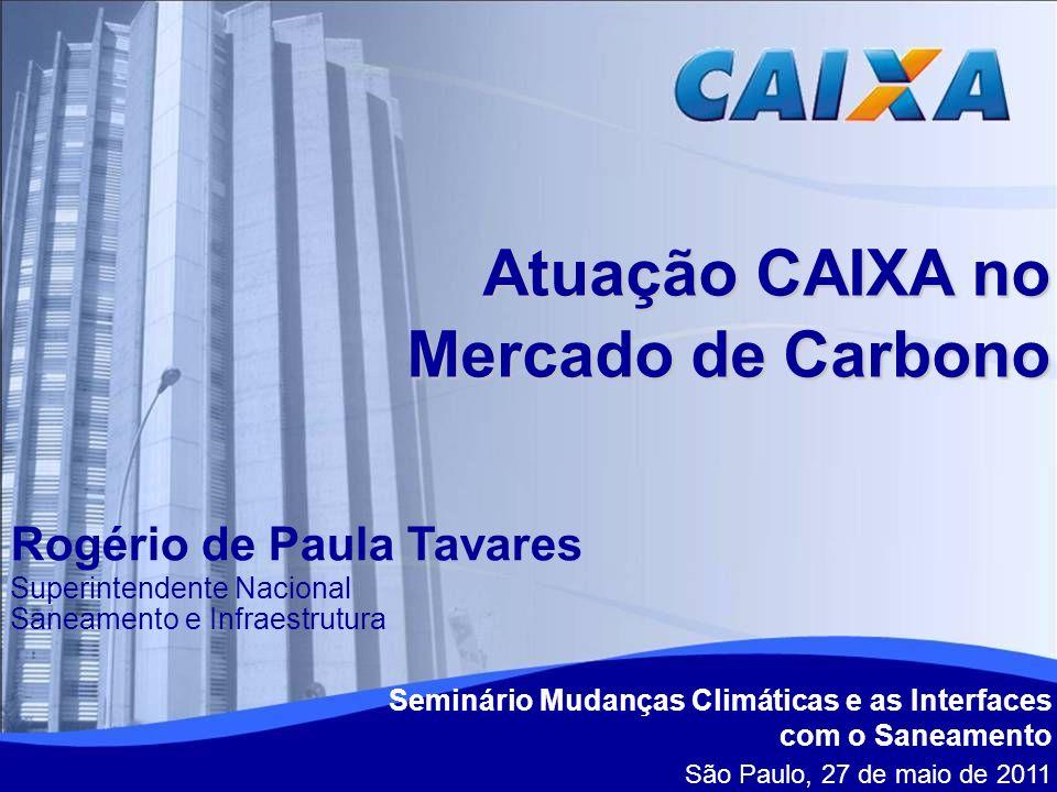 Atuação CAIXA no Mercado de Carbono