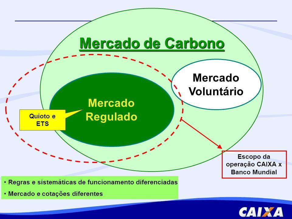 Escopo da operação CAIXA x Banco Mundial