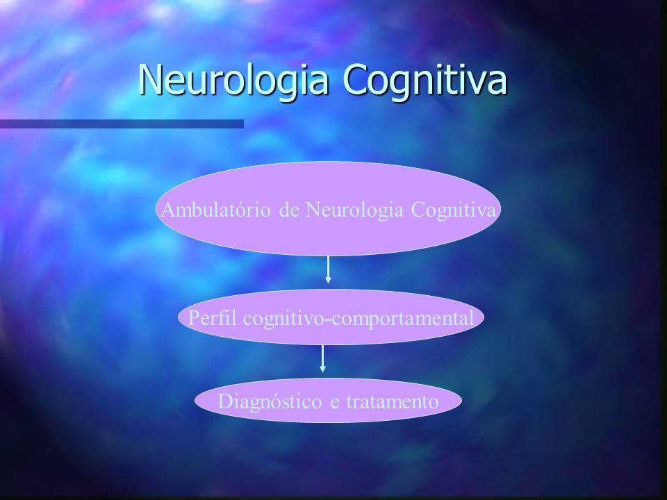 Neurologia Cognitiva Ambulatório de Neurologia Cognitiva