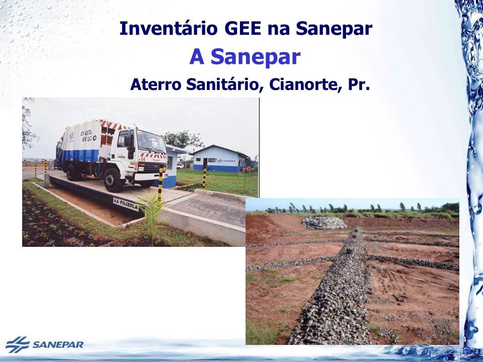 Aterro Sanitário, Cianorte, Pr.