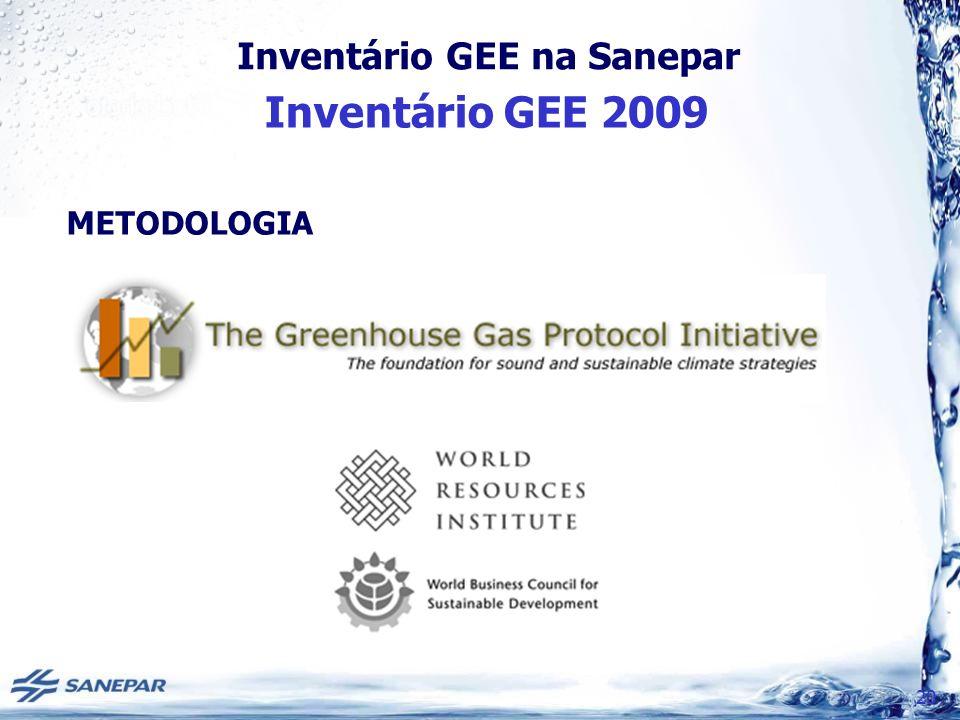 Inventário GEE 2009 METODOLOGIA 20