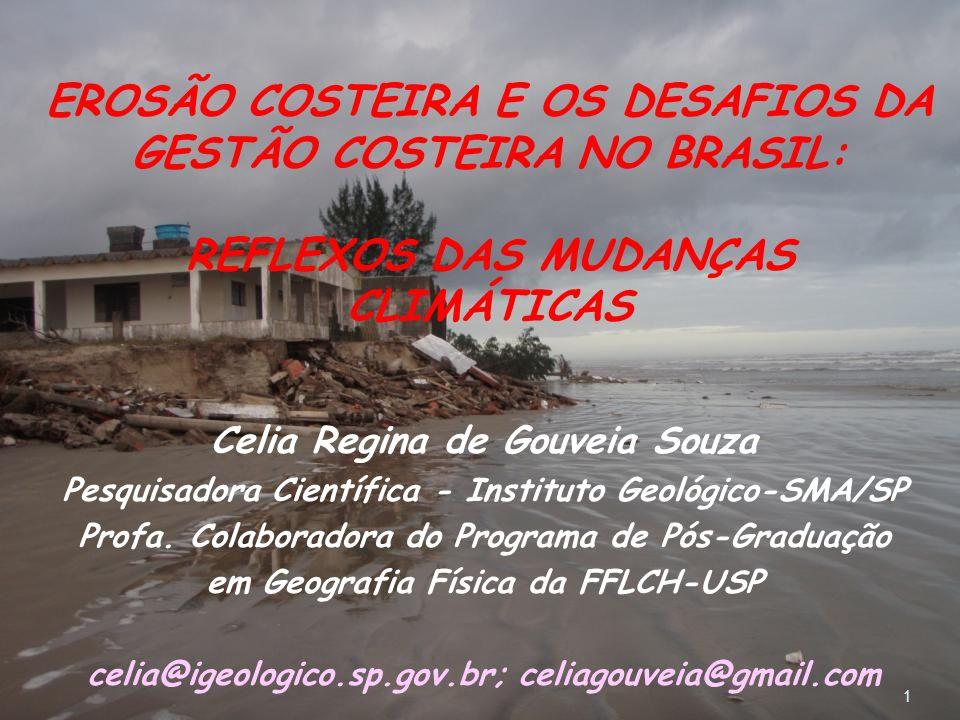 EROSÃO COSTEIRA E OS DESAFIOS DA GESTÃO COSTEIRA NO BRASIL: REFLEXOS DAS MUDANÇAS CLIMÁTICAS