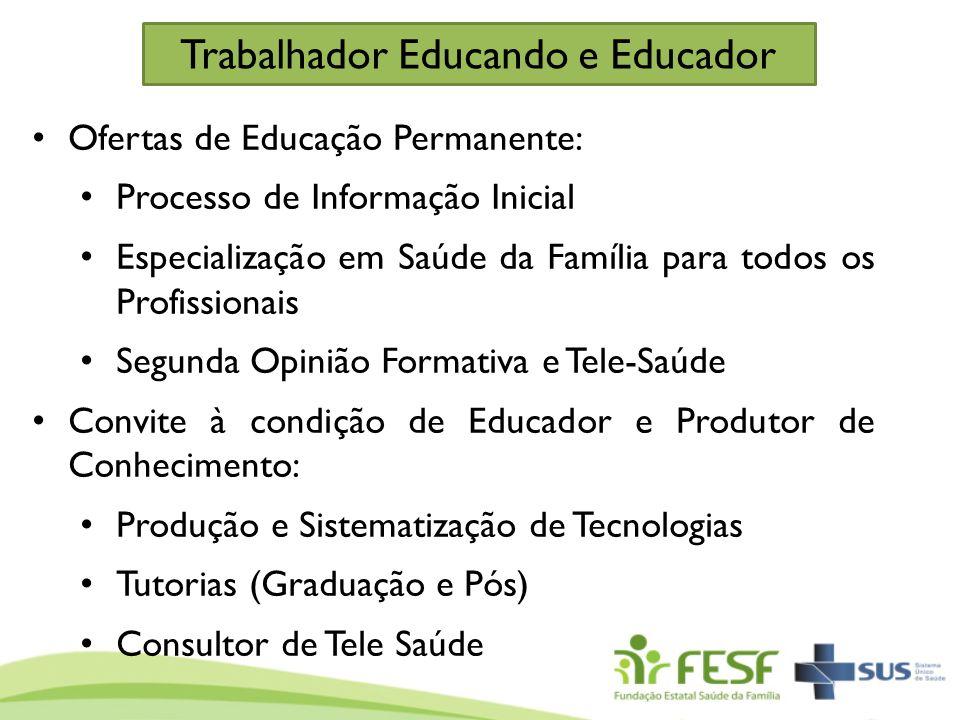 Trabalhador Educando e Educador