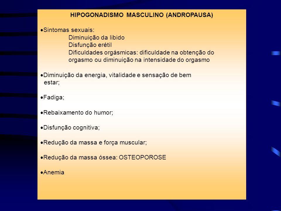 HIPOGONADISMO MASCULINO (ANDROPAUSA)
