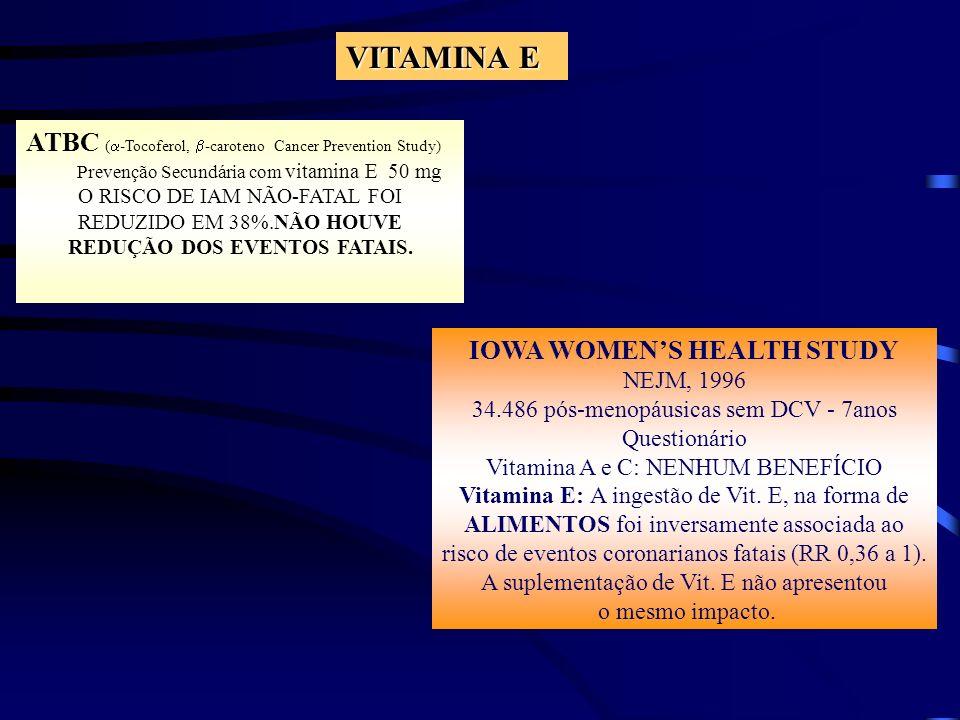 IOWA WOMEN'S HEALTH STUDY