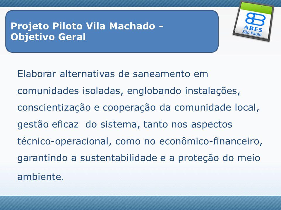 Projeto Piloto Vila Machado -