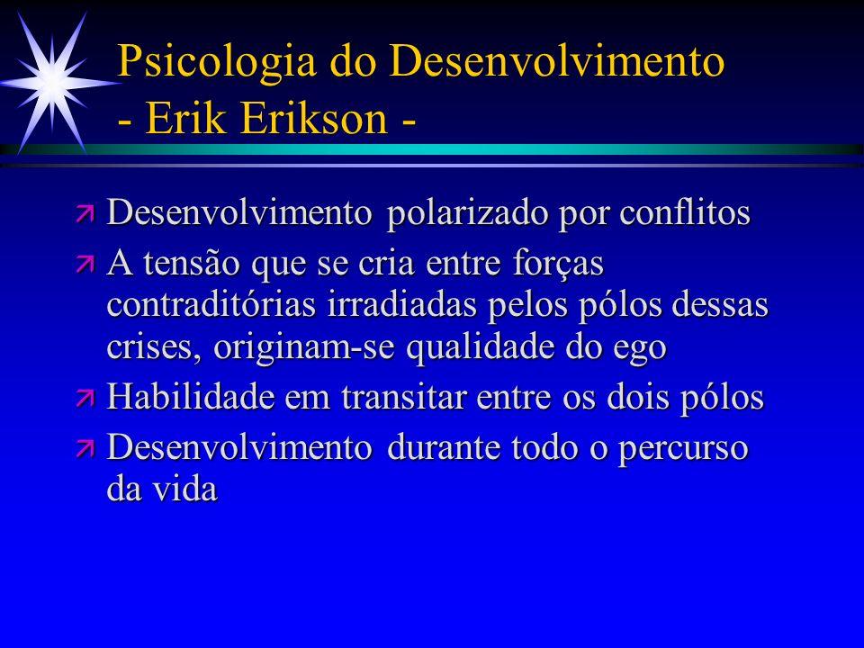 Psicologia do Desenvolvimento - Erik Erikson -