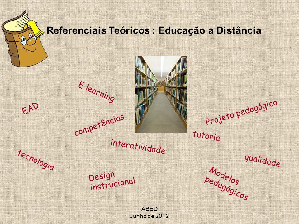Referenciais Teóricos : Educação a Distância