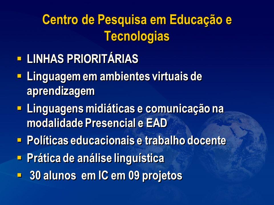 Centro de Pesquisa em Educação e Tecnologias