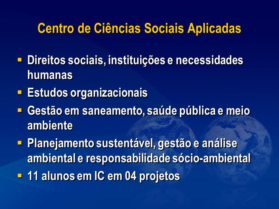 Centro de Ciências Sociais Aplicadas