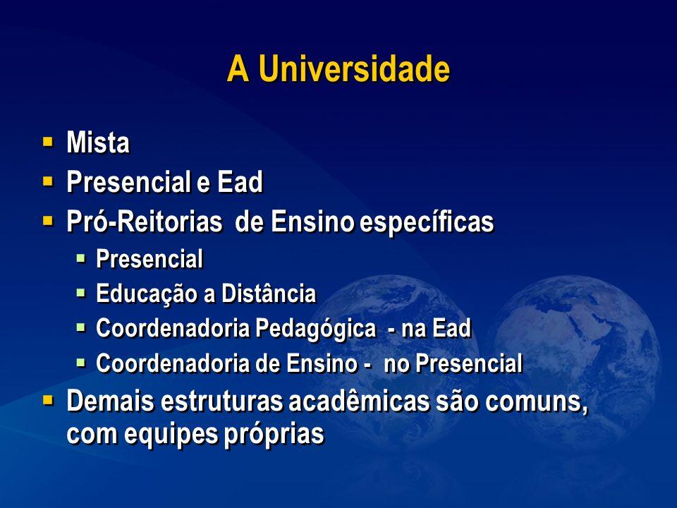 A Universidade Mista Presencial e Ead