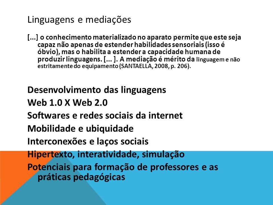 Linguagens e mediações