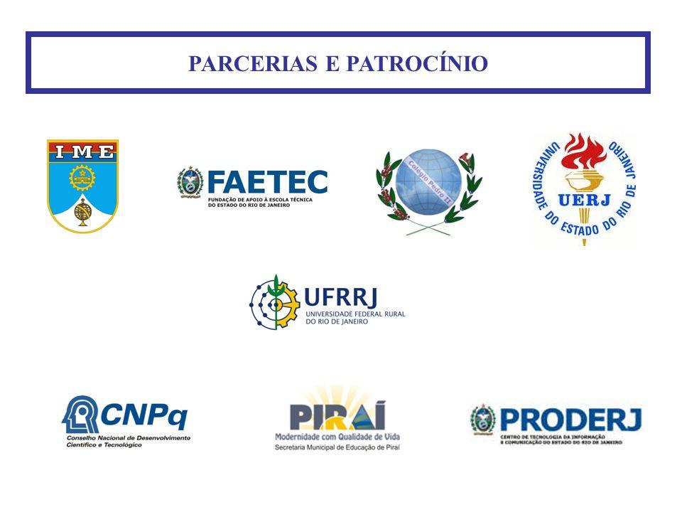 PARCERIAS E PATROCÍNIO
