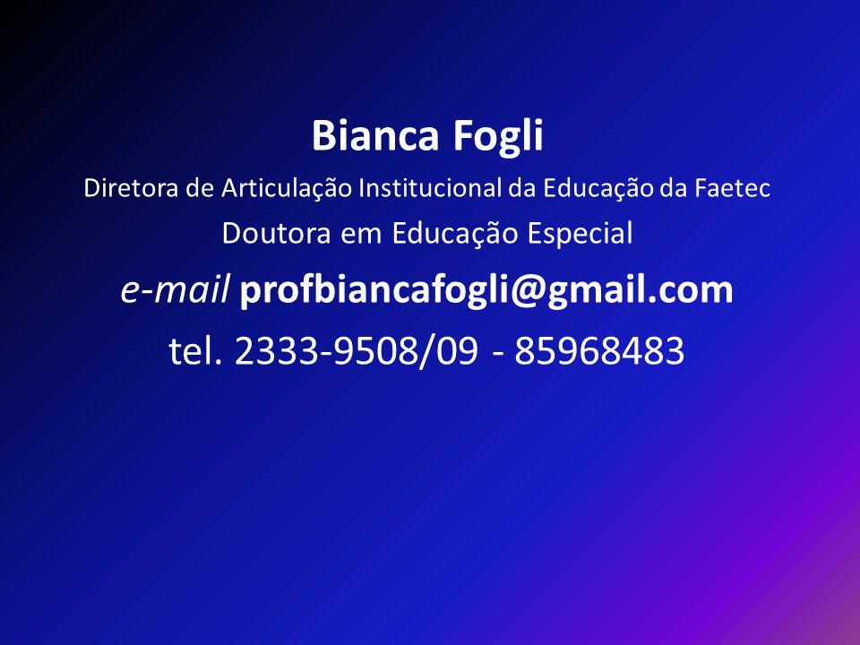 Bianca Fogli e-mail profbiancafogli@gmail.com