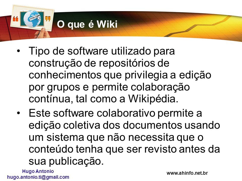 O que é Wiki