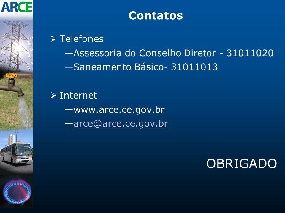 OBRIGADO Contatos Telefones Assessoria do Conselho Diretor - 31011020