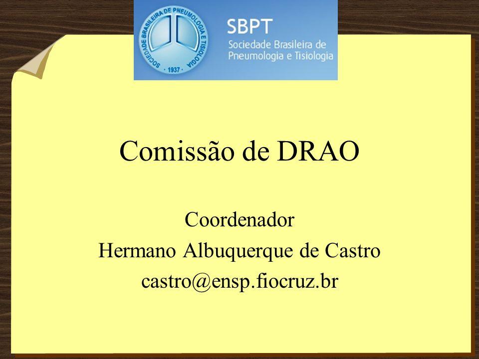 Coordenador Hermano Albuquerque de Castro castro@ensp.fiocruz.br