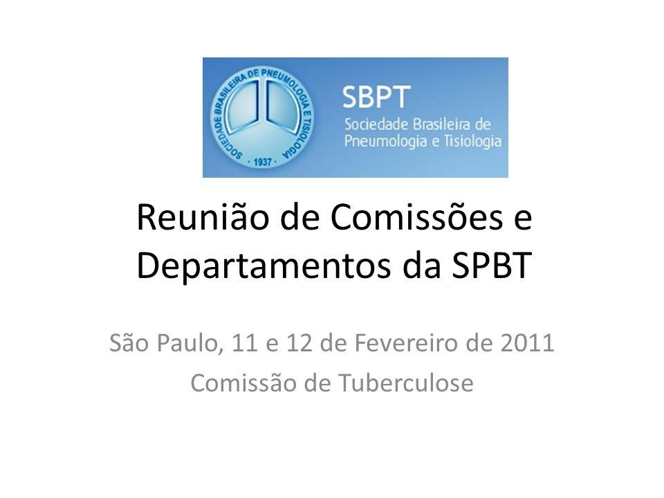 Reunião de Comissões e Departamentos da SPBT