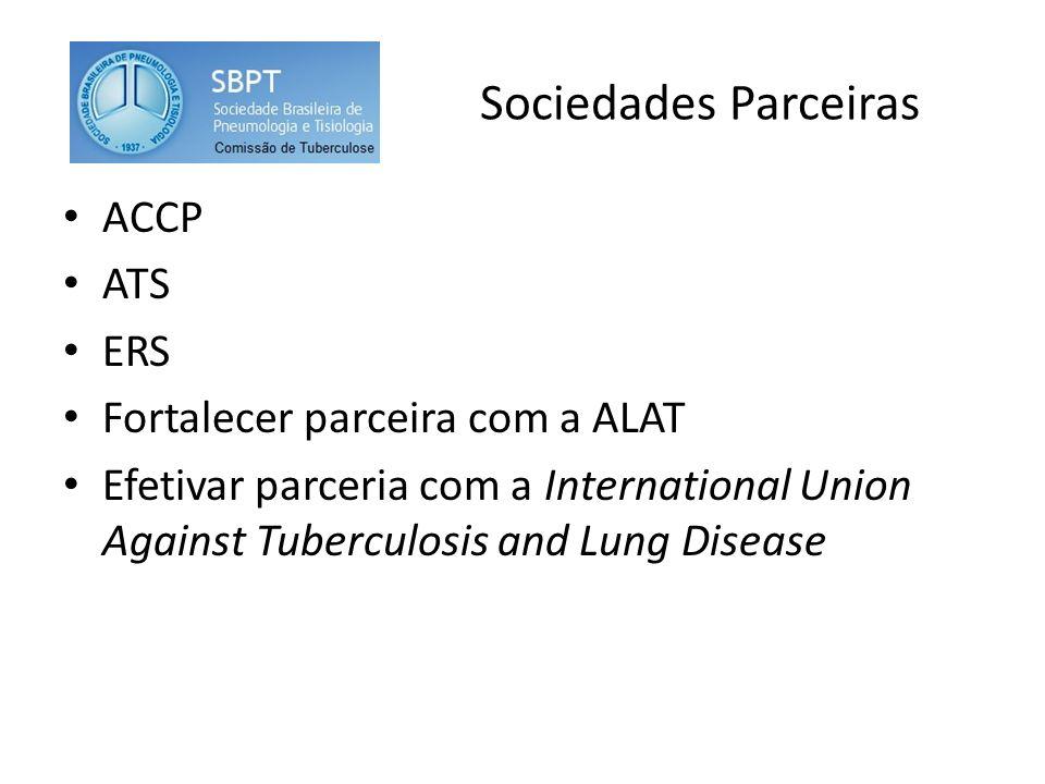 Sociedades Parceiras ACCP ATS ERS Fortalecer parceira com a ALAT