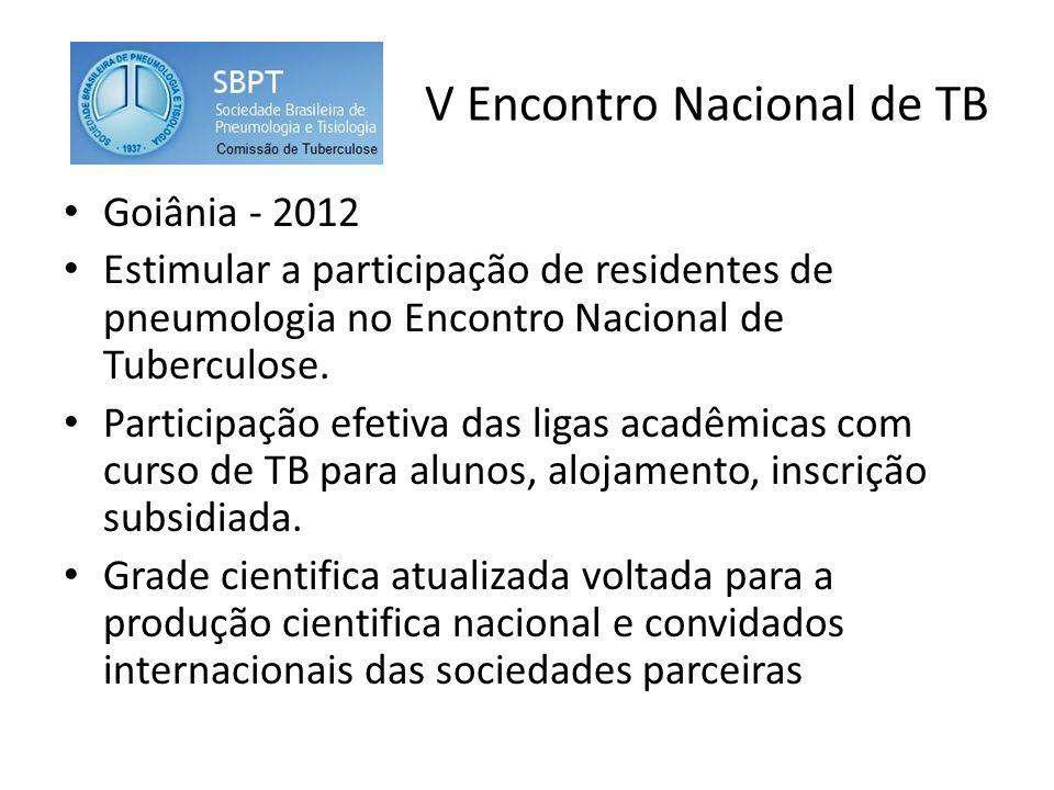V Encontro Nacional de TB