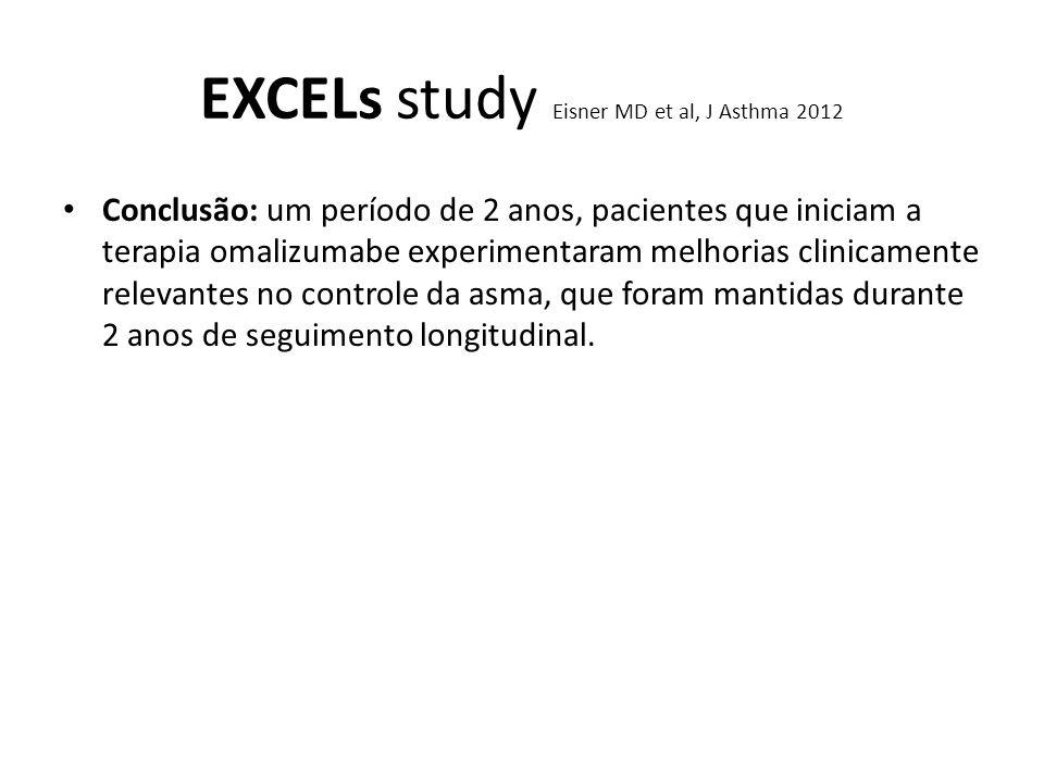 EXCELs study Eisner MD et al, J Asthma 2012