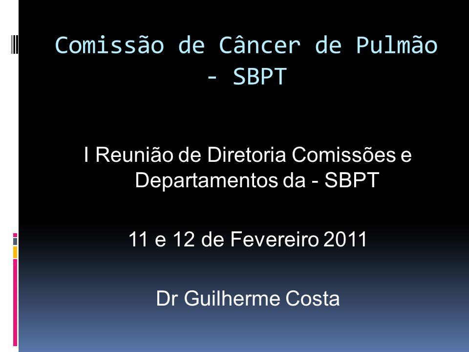 Comissão de Câncer de Pulmão - SBPT