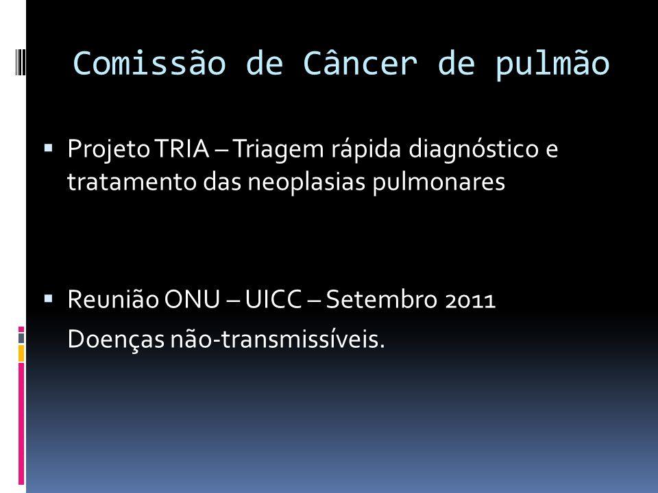 Comissão de Câncer de pulmão
