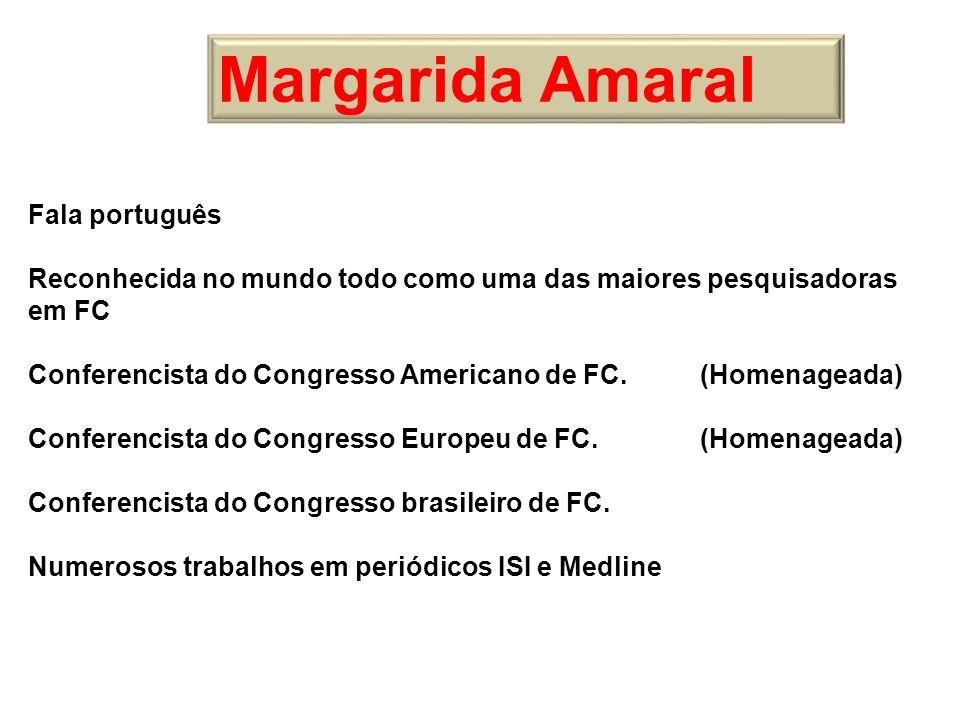 Margarida Amaral Fala português