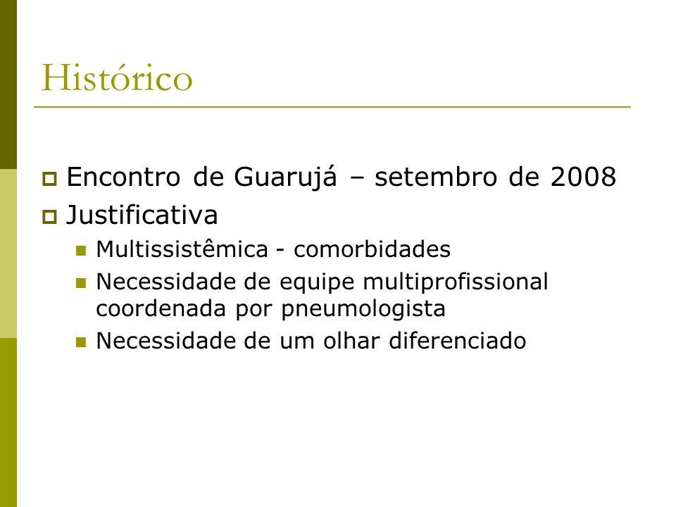 Histórico Encontro de Guarujá – setembro de 2008 Justificativa