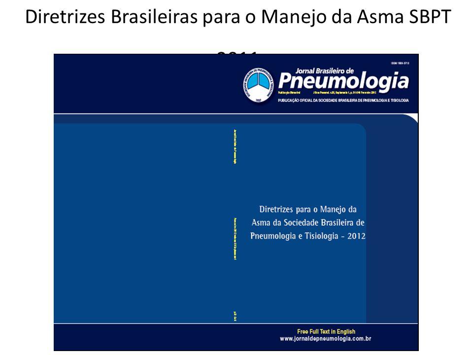 Diretrizes Brasileiras para o Manejo da Asma SBPT