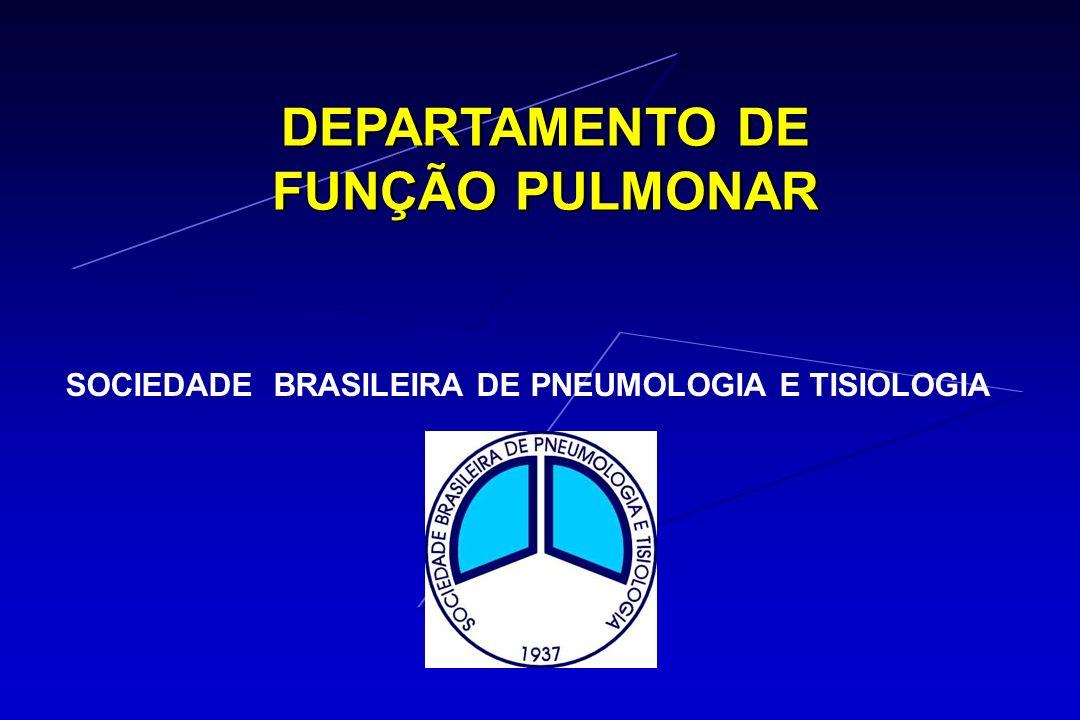 DEPARTAMENTO DE FUNÇÃO PULMONAR