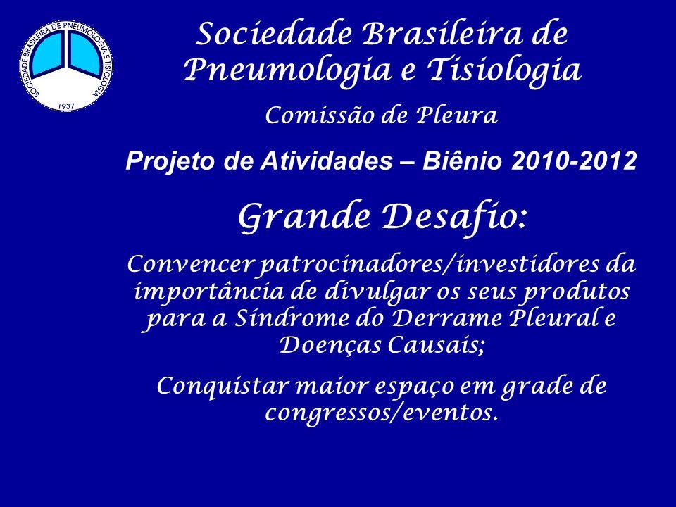 Grande Desafio: Sociedade Brasileira de Pneumologia e Tisiologia